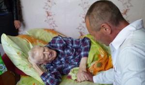 8 мая 2016 года ветерану из Ребрихинского района исполнилось 100 лет.