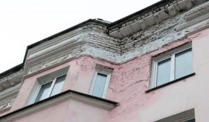 Фасады на центральных улицах Барнаула.
