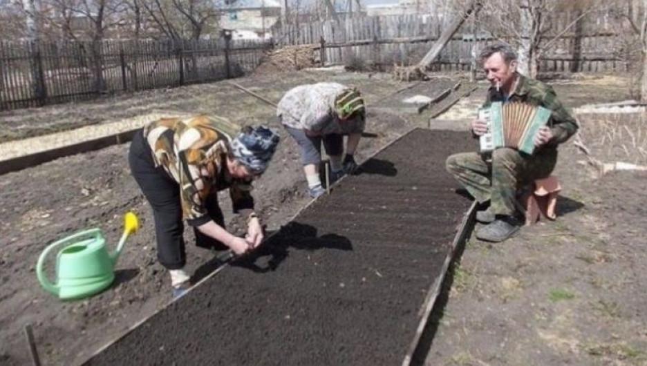 Такой снимок можно сделать только в России.
