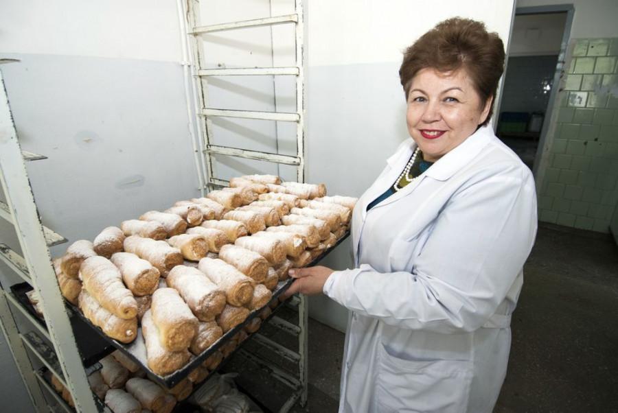 "Ирина Королькова, директор пекарни ""Рунгисъ""."