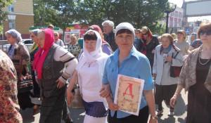В день славянской письменности и культуры в Барнауле прошел крестный ход.