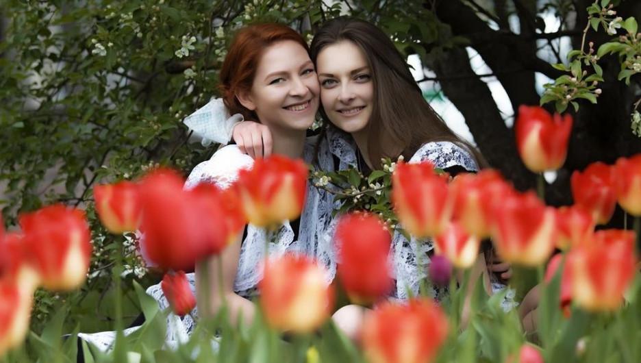 Барнаульские выпускницы. Май 2016 года.