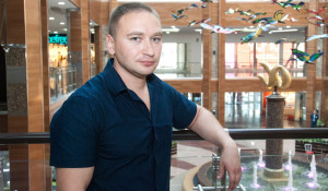 "Сергей Ткаченко, директор ТРЦ ""Арена""."