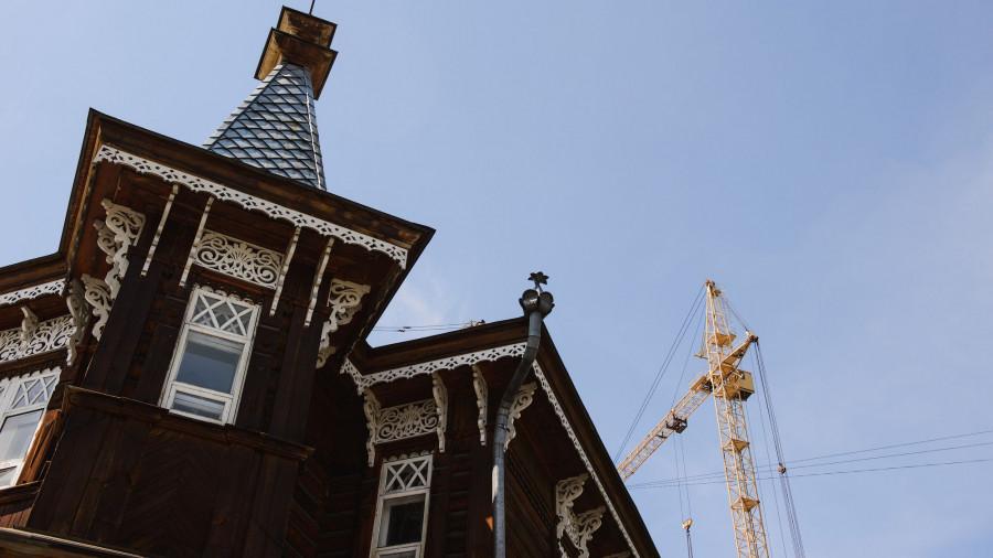 Дом архитектора. Застройка старого города.