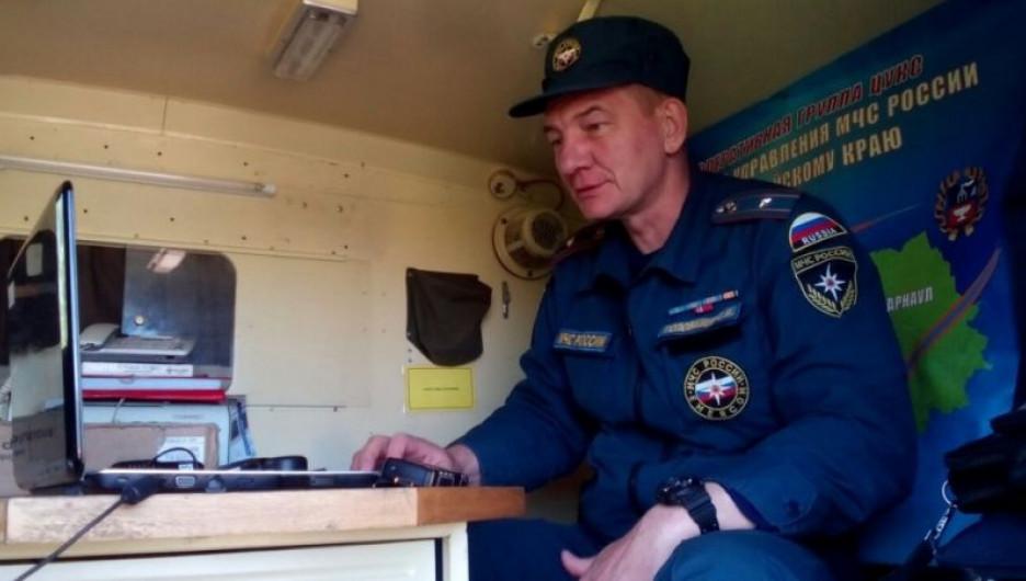 Паводок-2016, штаб МЧС.