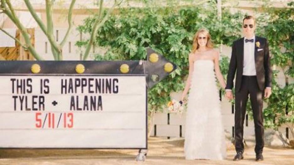 Креативное объявление о помолвке.