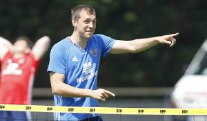 Тренировка сборной России по футболу. 9 июня 2016 года.