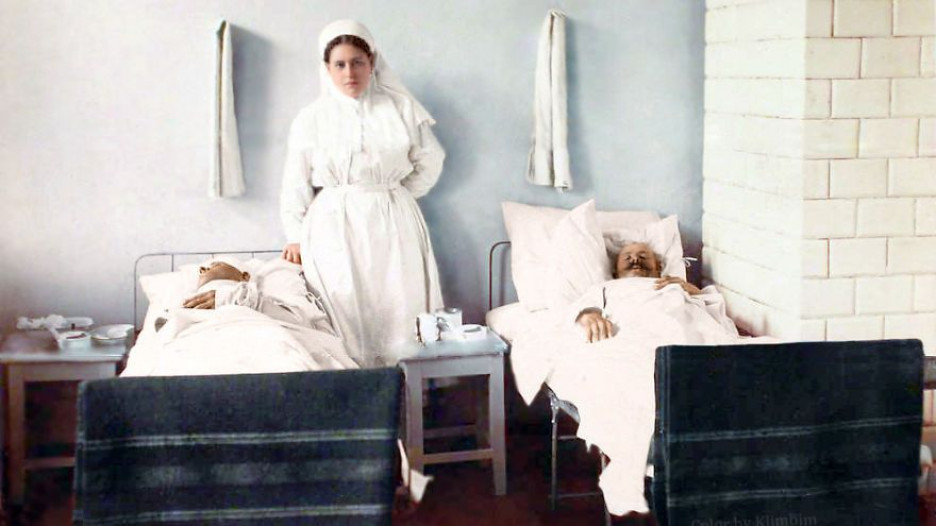 Медсестра, 1914-1916