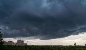 Шторм в Барнауле.