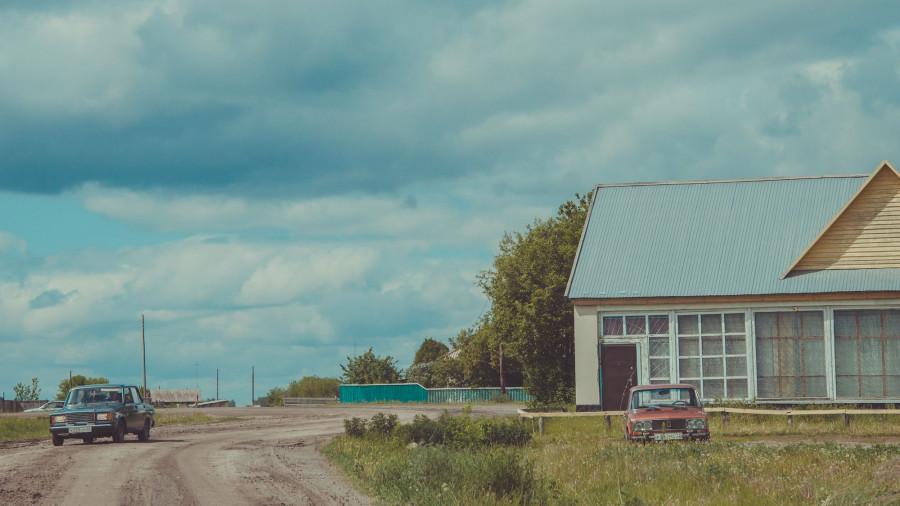 Село в Алтайском крае.