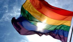 Флаг ЛГБТ.