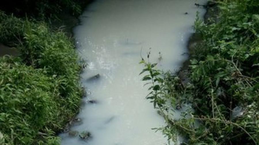 Вода в Пивоварке побелела