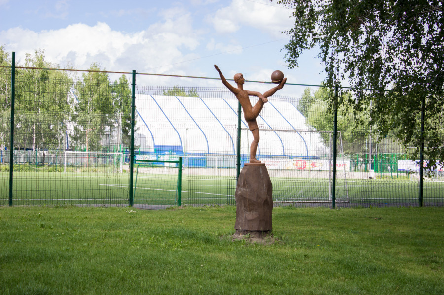 Парк спорта в Барнауле. 2016 год.