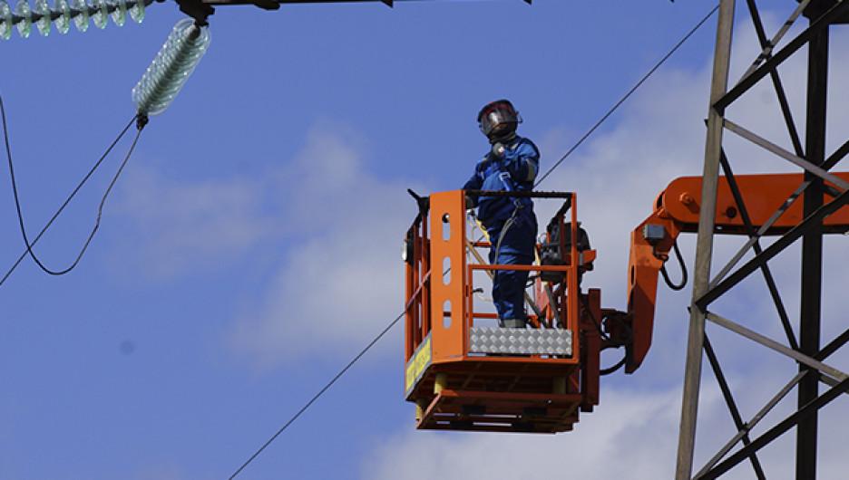 """""""Алтайэнерго"""" завершает реконструкцию высоковольтной линии """"Целинное – Мартыново"""""""