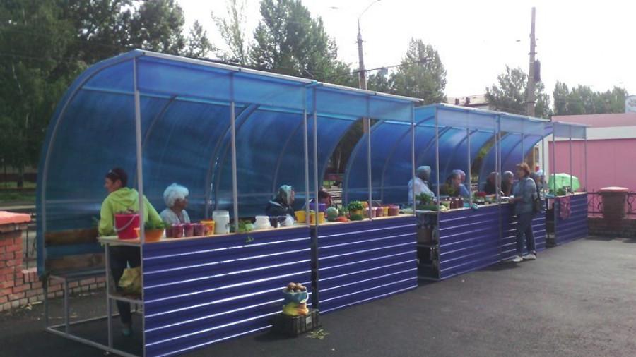 Торговые лотки для садоводов