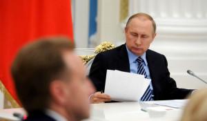 Владимир Путин на заседании Совета по стратегическому развитию и приоритетным проектам.