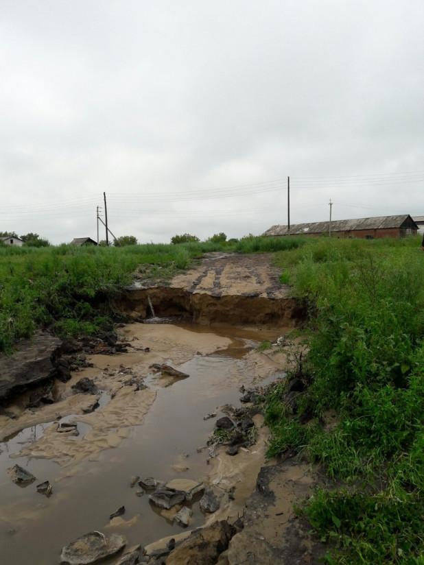 гирлянды размыло дороги в алтайском крае батурово фото должно