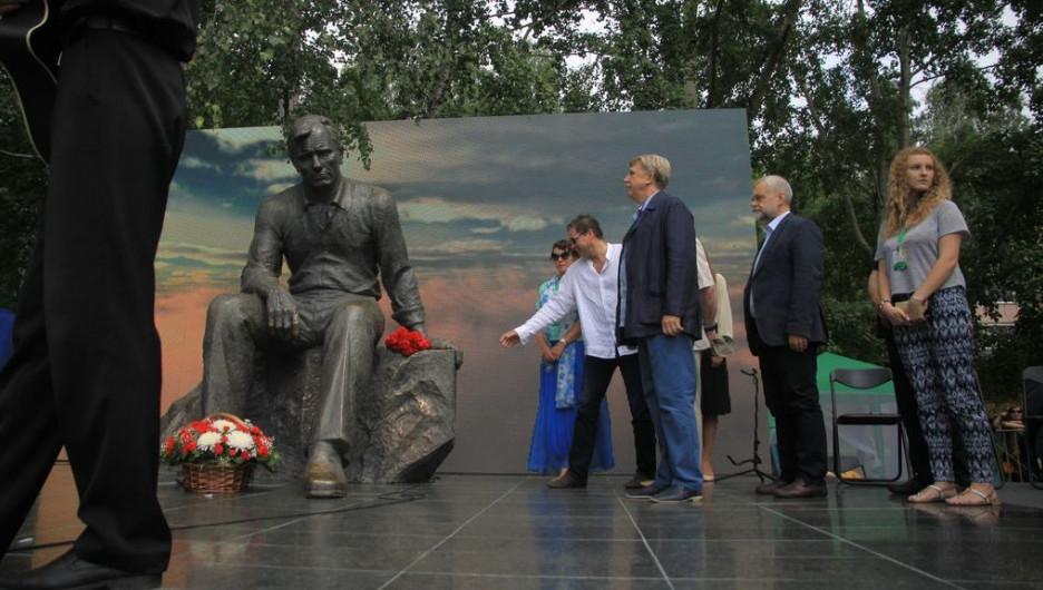 Открытие Шукшинского кинофестиваля. Барнаул, 19 июля 2016 года.