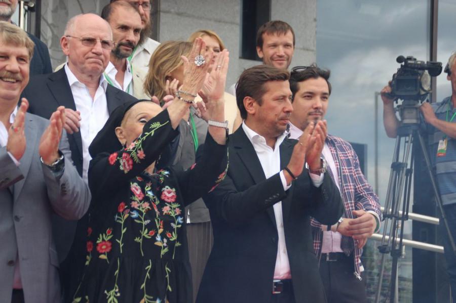Открытие Шукшинского кинофестиваля. Барнаул, театр драмы, 19 июля 2016 года.