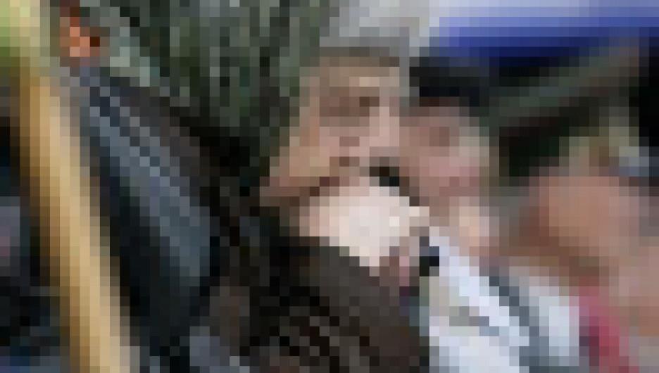 День Победы в Барнауле. 9 мая 2010 года.