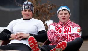 Андрей Крайтор (слева) и Алексей Коровашков.