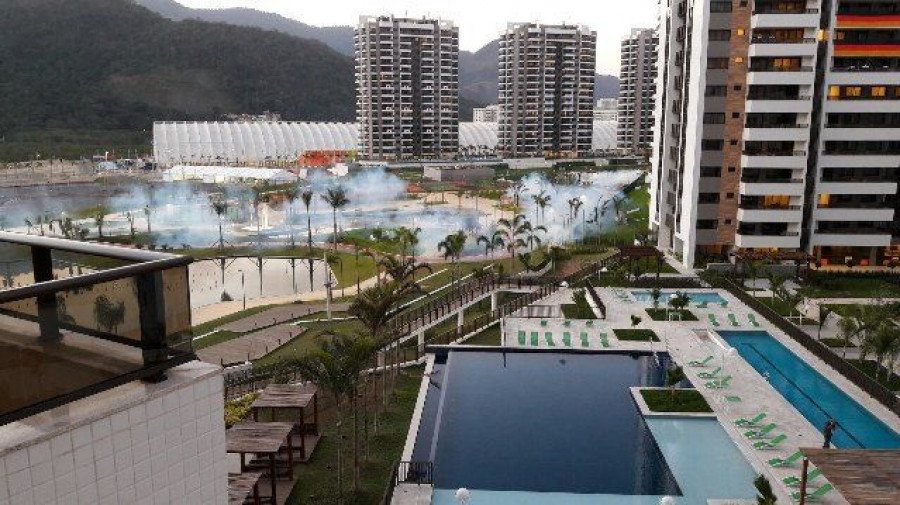 Олимпийская деревня в Рио-де-Жанейро.