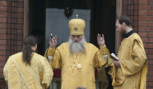В Барнауле отметили День крещения Руси.