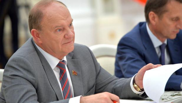 Лидер КПРФ заявил, что партия власти снова будет пудрить мозги избирателям