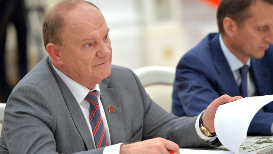 """""""Мы их погоним оттуда"""": Зюганов не оценил идею переделки Мавзолея Ленина"""