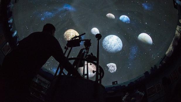 В барнаульском планетарии.