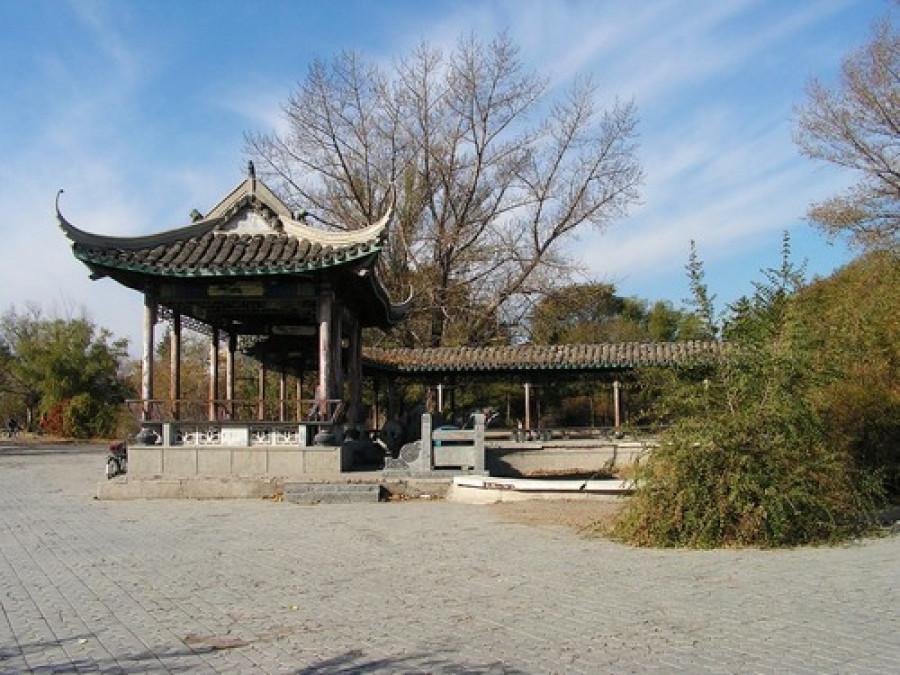 Достопримечательности китайского города Байчэн