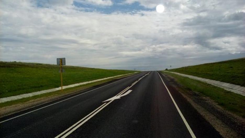 Трасса в Алтайском крае
