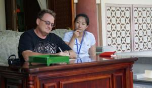Барнаулец побывал в Северной Корее.