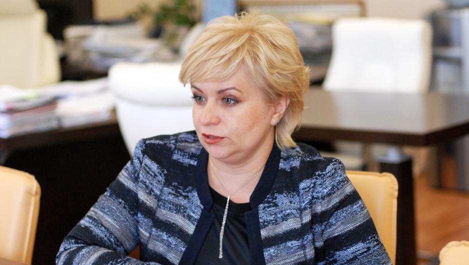 Председатель крайизбиркома Ирина Акимова.
