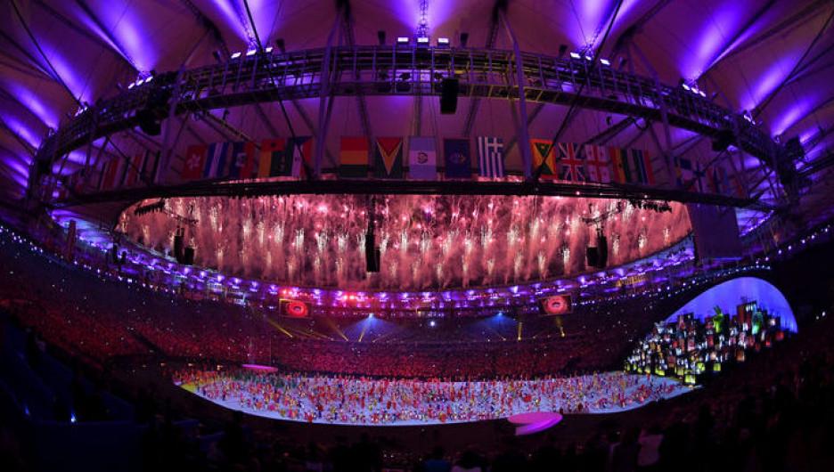 Открытие олимпиады в Рио