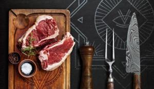 Концепция для мясного ресторана. Автор - Сергей Крючков