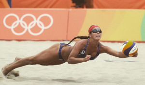 Пляжный волейбол на Олимпиаде-2016.