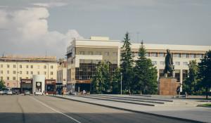 "Площадь Советов. ЦУМ, гостиница ""Центральная""."
