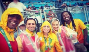 Веселые снимки про Олимпиаду в Рио.