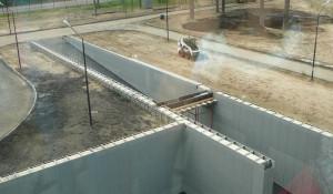 Строительство нового Краевого перинатального центра в Барнауле.