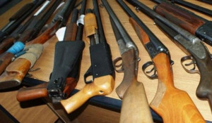 Оружие, ружья.