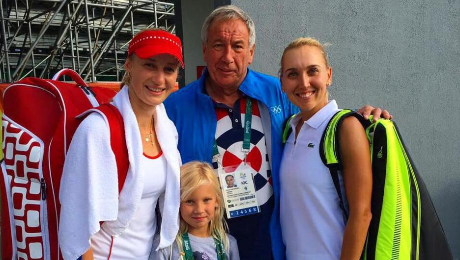 Теннисистки Екатерина Макарова и Елена Веснина.