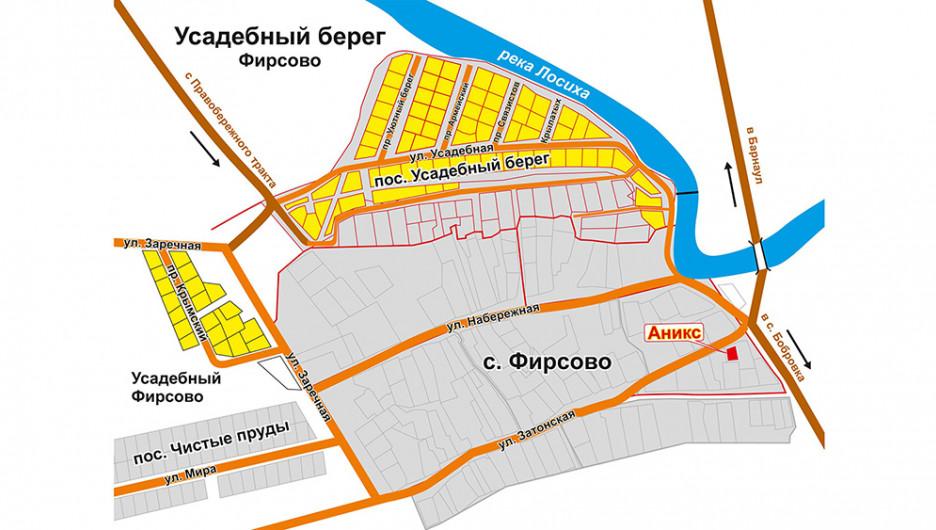 """Поселок """"Усадебный берег Фирсово""""."""
