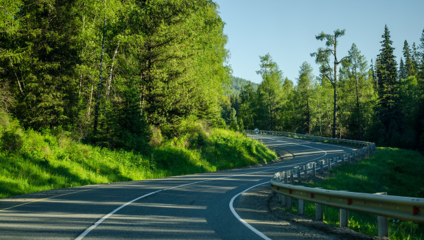 Дорога на Алтае.