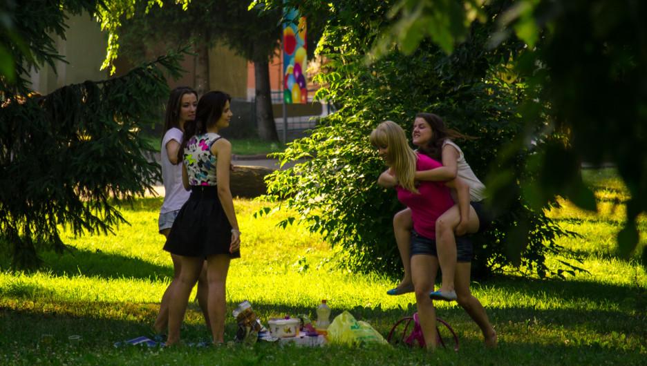 Девушки. Барнаульская молодежь.