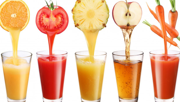 Разные виды соков
