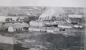 Сереброплавильный завод, конец XIX в.
