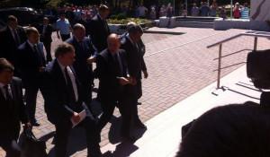 Владимир Путин прибыл в Белокуриху.
