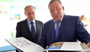 Владимир Путин и Александр Карлин.