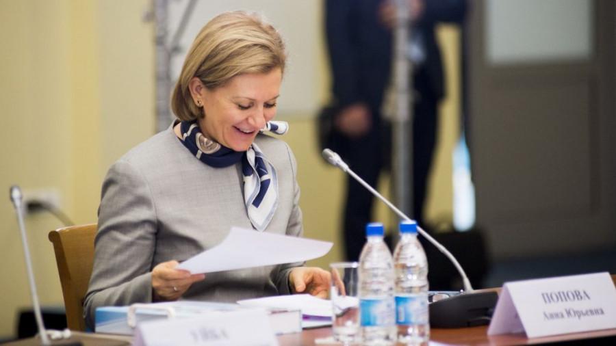 Анна Попова, главный санитарный врач.
